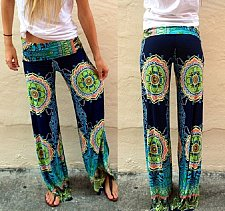 Buy Loose Casual Yoga Pants Harem Wide Leg Long Beach Palazzo Stretch Plus Size
