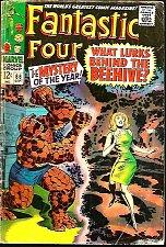 Buy Fantastic Four #66 HIM=WARLOCK Key Lee / Kirby 1st print GUARDIANS of the GALAXY