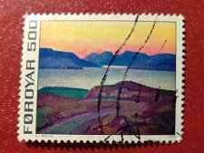 Buy Faroe Islands used 1v 1975 Introduction of the Financially Independent Postverk