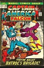Buy Captain America #149 Falcon Marvel Comics BATROC Conway Sal Buscema Stan Lee1972