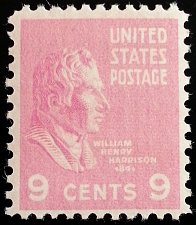 Buy 1938 9c William Henry Harrison, 9th President Scott 814 Mint F/VF NH