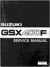 Buy 81-83 Suzuki GSX400F Katana Service Repair Workshop Manual CD .. GSX 400 F 400F