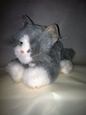 "Buy Fur Real Friends Kitten 9"" Meowing Battery Operated Moving Cat Kitten Kitty 2006"