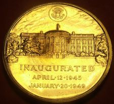 Buy Gem Unc Harry S. Truman Presidential Bronze Inauguration Medallion~Free Sh