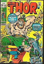 Buy THOR #184 1st Infinity Comics 1971 Stan Lee Buscema Intro Mysterious Silent One