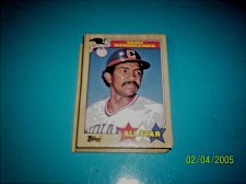 Buy TONY BERNAZARD 1987 Topps #607 All Star HOF INDIANS free shipping