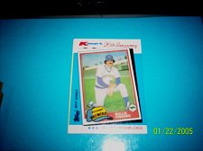 Buy ROLLIE FINGERS BREWERS 1982 TOPPS KMART 20TH ANNIVERSARY #40 OF 44