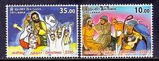 Buy Sri Lanka Post: 2016 MNH Religion Thematic Christmas 2v Stamp