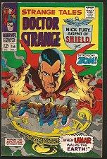 Buy STRANGE TALES #156 DR STRANGE / SHIELD Jack Kirby RoyThomas/STERANKO Comics F/VF