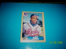 Buy 1987 Topps Traded Baseball CARD OF DION JAMES BRAVES #T54 MINT