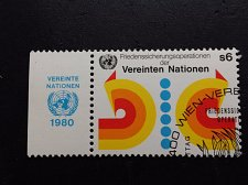 Buy UNO Vienna Stamp 1980 Maintenance of peace 1980 FD Cancellation