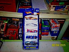 Buy Hot Wheels CITY SERVICE 5 Pack Gift Set Cars 2000