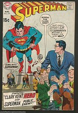 Buy SUPERMAN #219 DC COMICS 1969 Silver Age 1st Print