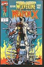 Buy Marvel Comics Presents #72 -1st WEAPON X WOLVERINE Barry Windsor Smith KEY Issue