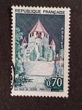 Buy France 1v used stamp 1964 Provins The Tower of Caesar Mi:482