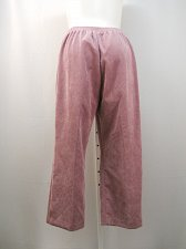 Buy Casual Corduroy Pants Size 18W ALFRED DUNNER Medium Proportioned Elastic Back