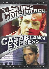 Buy 2movie Swiss Conspiracy & Casablanca Express DVD COLOR Glenn FORD David JANSSEN