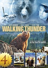 Buy 4movie DVD Walking Thunder,Kansas,The Legend of the Ruby Silver,Long Road Home