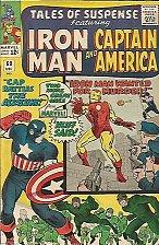 Buy Tales of Suspense #60 Capt. America Iron Man Jack Kirby 1964 Marvel Comics 1stP