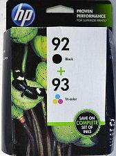 Buy 92 black & 93 color HP ink DeskJet 5440 PhotoSmart 7850 C3180 C3150 printer 1510