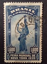 Buy Brazil Stamp Mi:BR 512 used 1939 New york World Exposition