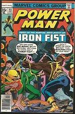Buy POWER MAN #48 IRON FIST Marvel Comics '77 John Byrne art inside,Claremont Fine+