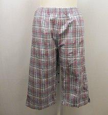 Buy SIZE 20P Women Cotton Capris BOCA BAY Multi Colored Striped Elastic Waist