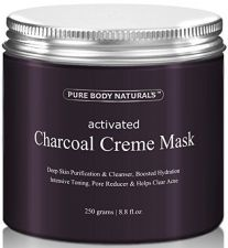 Buy Activated Charcoal Face Mask, Charcoal Facial Mask Treatment Mud Mask - Improved