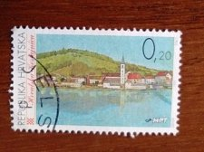 Buy Croatia USED Stamp1995 Mi355 Croatian Towns HRVATSKA KOSTAJNICA
