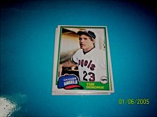 Buy 1981 Topps BASEBALL CARD OF TOM DONOHUE #621 MINT FREE SHIPPING