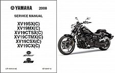 Buy Yamaha Raider / Star / Roadliner 1900 Service Repair Manual on a CD XV19 XV1900