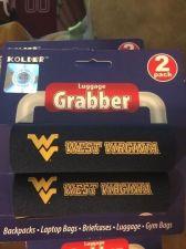 Buy West Virginia Mountaineers Kolder Luggage Grabber NCAA Licensed 2-Pack Grabber