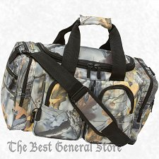 "Buy 18"" Weather-Resistant Tree Camo Hunting Tote Bag Range Gear Carry On Overnight"