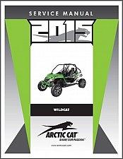 Buy 2015 Arctic Cat Wildcat Service Repair Workshop Manual CD