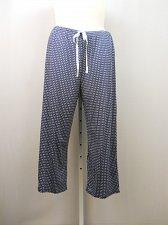 Buy Women Knit Pajama Bottoms NAUTICA INTIMATES SIZE 2XL Navy Polka Dot Straight Leg