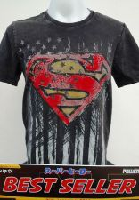 Buy Superman Black Cotton T-Shirt Super Hero Dccomics,Warner Bros. A001