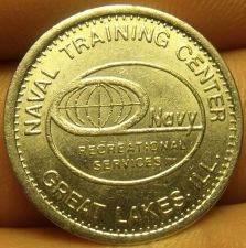 Buy Naval Training Center Great Lakes Illinois Depertment Of Defense Token~Free Ship