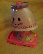 Buy Fisher Price Laugh & Learn My Pretty Learning Music Baby Lamp 30+ Songs/Phrases!