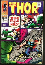 Buy THOR #149 Origin Black Bolt JACK KIRBY Marvel Comics 1968 STAN LEE 1st series