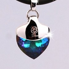 Buy ELECTRIFIED FEEL BETTER EJNP-D030 Pendant Necklace 1 Multi-Col Swarovski Crystal