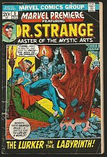 Buy Marvel Premiere #5 Doctor Strange Marvel Comics Gardner Fox, Wesley, Perlin 1972