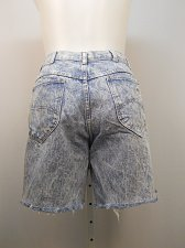 Buy SIZE 18 Petite Womens Jeans Cut Offs CHIC Stonewash Straight Leg High Waist 34X8