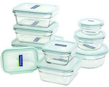 Buy Glasslock 18-Piece Assorted Oven Safe Container Set