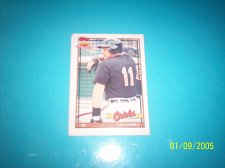Buy 1991 Topps Traded leo gomez orioles #47T mint free ship