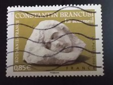 Buy France Art 2v Used stamp set 2006 Joint issue with Romania - Constantin Brancusi