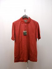 Buy Mens Polo Shirt JACK NICKLAUS SIZE M Golf Double Mercerized Cotton Red Dots
