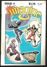 Buy IMAGINE 4 STAR*REACH STEVE DITKO MIKE GILBERT WHITE PAPER NICE SHAPE 1978