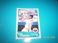 Buy 1988 Score Young Superstars series 1 baseball KEN CAMINITI #29 FREE SHIP