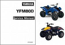 Buy 92-02 Yamaha YFM80 Badger / Raptor 80 ATV Service Manual CD - YFM80D, YFM80WP