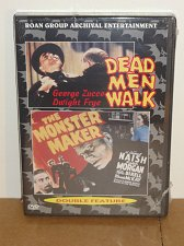 Buy Dead Men Walk,Monster Maker DVD George Zucco,Dwight Frye,Sam Newfield,Roan Group